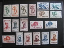 MADAGASCAR:  N° 300 Au N° 318, Sauf Le N° 315, Neufs X. - Madagascar (1889-1960)