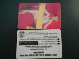 GREAT BRITAIN U.K  MINT CARDS  MONROE MERILYN CINEMA MUSICS - Cinema