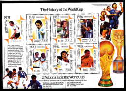 Soccer World Cup 2002 - GRENADA - Sheet MNH - Coppa Del Mondo