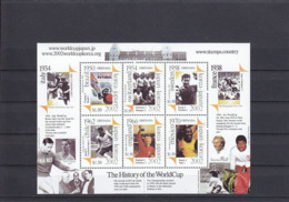 Soccer World Cup 2002 - GRENADA - Sheet MNH - Coupe Du Monde