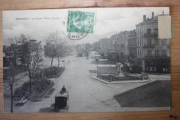 Romans - La Gare Place Carnot - Romans Sur Isere