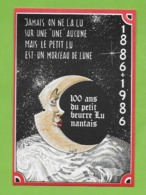 CPM  ILLUSTRATEUR .Bernard Veyrl..  Les 100 Ans Du Petit Beurre LU Nantais. Publicité. - Autres Illustrateurs