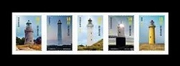 Denmark 2019 Mih. 1974/78 Lighthouses MNH ** - Unused Stamps