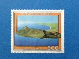 1990 ITALIA TURISTICA SAN FELICE CIRCEO FRANCOBOLLO USATO STAMP USED - 6. 1946-.. Repubblica