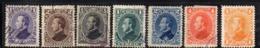 APR2900 - HONDURAS 1878 , Yvert N. 14/20 Usata  (2380A) - Honduras