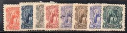 APR2902 - HONDURAS 1895 , Yvert N. 68/75 *  Linguelle Forti (2380A) - Honduras