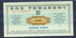 Poland  - 1969 - 1 Cent....P FX21a2....aUNC/XF - Polen