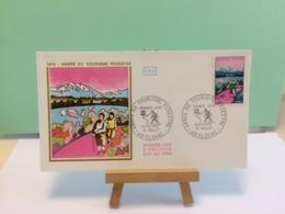 Année Tourisme Pédestre - 48 Florac - 15.7.1972 FDC 1er Jour Coté 2,20€ - 1970-1979