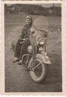 Woman On A Motorbike - Photo - Moto