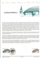 DOCUMENT FDC 1983 CONCARNEAU FINISTERE - Documents De La Poste