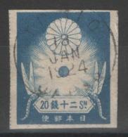 Japon - YT 183 Oblitéré - 1923 - Giappone