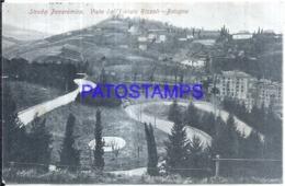 120582 ITALY BOLOGNA EMILIA ROMAÑA VIEW PARTIAL INSTITUTE RIZZOLI CIRCULATED TO ARGENTINA POSTAL POSTCARD - Italia