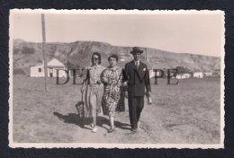 REAL PHOTO POSTCARD PORTUGAL ALMADA COSTA DA CAPARICA 1950 - Lisboa