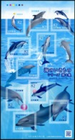 Japan (2019) - MS -   /  Sea Life #3 - Fauna Marina - Whales - Dolphins - Mundo Aquatico