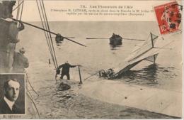 Les Pionniers De L'air - Aéroplane H.LATHAM Chute Dans La Manche - Unclassified