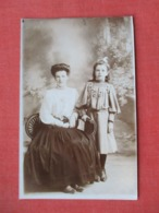 RPPC Mother Daughter      Ref 3643 - Fashion