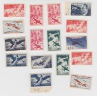 POSTE AERIENNE. LOT DE 16 TIMBRES NEUFS**  /  7623 - 1927-1959 Ungebraucht