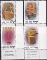 ISRAEL 1985 Mi-Nr. 1007/10 ** MNH - Nuevos (con Tab)