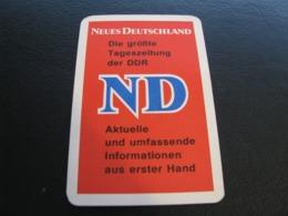 Germany GDR Pocket Calendar Neus Deutschland 1973 Rare - Kalenders