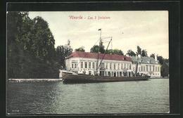 AK Vilvorde, Auberge Les 3 Fontaines, Schiff Union V - Belgien