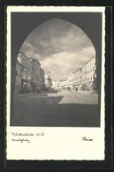 AK Vöcklabruck, Blick Auf Hauptplatz Durch Tor - Österreich