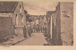 CARTE ALLEMANDE - GUERRE 14-18 - WESTFRONT - CRAONNE - VILLAGE OCCUPÉ - Guerre 1914-18