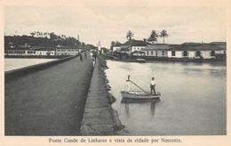 India - NOVA GOA - Conde De Linhares Bridge - Publ. N.W. Siqueira. - Inde
