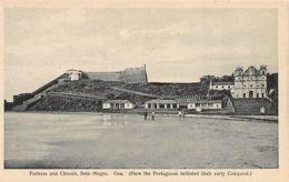 India - NOVA GOA - Fortress And Church - Publ. N.W. Siqueira. - Inde
