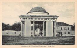 India - NOVA GOA - A. De Albuquerque Monument - Publ. N.W. Siqueira. - Inde