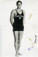 Sports Paris Johnny Weissmuller Piscine Molitor Ancienne Photo 1930 - Sports