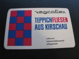 Germany GDR Pocket Calendar Vegroflex 1974 Rare - Kalenders