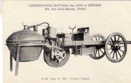 Voiture Cugnot  - Conservatoire Nationale Des Arts & Métiers - CPA - Sonstige