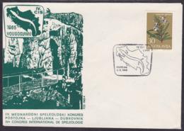 Yugoslavia / Slovenia , Postojna Cave / Speology , 1965 - 1945-1992 Socialist Federal Republic Of Yugoslavia