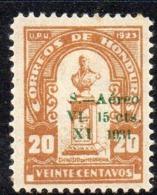 APR2908 - HONDURAS 1931 , Posta Aerea Yvert N. 43  *  Linguella (2380A) - Honduras