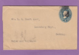 BANDE JOURNAL POUR LUXEMBOURG-VILLE(NOT IN GERMANY).1907. - Ganzsachen