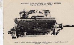 Moteur Hispano Suiza 200hp 1920   - Conservatoire Nationale Des Arts & Métiers - CPA - Postcards