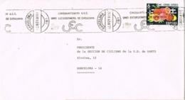 34031. Carta BARCELONA 1981. Rodillo Especial UEC, Union Excursionista Catalunya - 1931-Today: 2nd Rep - ... Juan Carlos I
