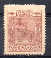 Viñeta Regio Llibertad Valenciana - Spanien