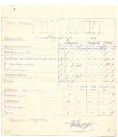 DUBENDORF 1917 RAPPORT DU FRONT SUISSE AVIATION WW1 /FREE SHIP. R - Historical Documents