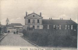 93) Romainville - Ecole Libre De Filles - Institution Jeanne D'Arc (1915) - Romainville