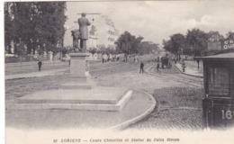56. LORIENT CPA. COURS CHAZELLES ET STATUE DE JULES SIMON - Lorient
