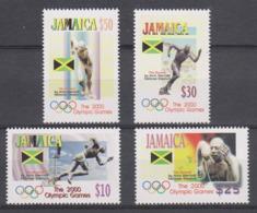 Olympics 2000 - Athletics - JAMAICA - Set MNH - Summer 2000: Sydney