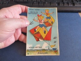 Vole Vole Dans Le Cerf-volant Vous Verrez ALENCON - Móviles (animadas)