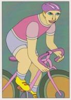 Cpm 1741/427 ERGON - Homme à Bicyclette  - Vélo - Cyclisme - Bicycle - Cycle - Illustrateurs - Illustrateur - Ergon