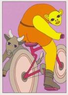 Cpm 1741/433 ERGON - Homme à Bicyclette  - Vélo - Cyclisme - Bicycle - Cycle - Illustrateurs - Illustrateur - Ergon