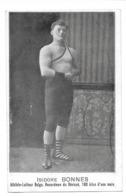 Isidore Bonnes Athlète Lutteur Belgique Recordman Du Dévissé - Wrestling