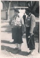 Photographie - 7 Juin 1942 - Marseille - Le Général De La Porte Du Theil Et Le Comissaire De Montbel - 1939-45