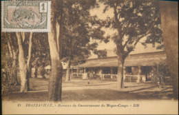 FRENCH CONGO BRAZZAVILLE BUREAUX DU GOUVERNEMENT DU MOYEN CONGO - Brazzaville