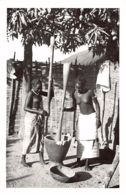 Guinea Bissau - Topless Women Pounding Rice Ethnic Nude - REAL PHOTO Foto Serra 1. - Guinea-Bissau