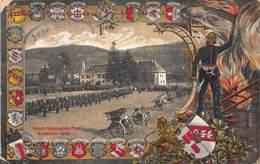 SAINTE-MARIE-AUX-MINES (68) - Fête Des Pompiers En 1908. - Sainte-Marie-aux-Mines